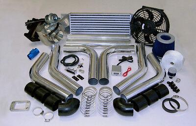 Custom Race T3T4 T3 T4 TurboCharger Turbo Boost Kit 485HP SET STARTER Z SYSTEM