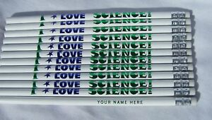 24-Personalized-I-LOVE-SCIENCE-Pencils