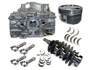 Subaru-NEW-OEM-Shortblock-EJ257-2-6L-Manley-83mm-Billet-Stroker-Kit-WRX-STi