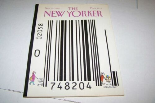 11141988 NEW YORKER magazine BAR CODE
