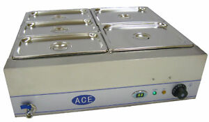 NEW-ACE-LARGE-5-GASTRONORMS-150MM-DEEP-WET-BAIN-MARIE