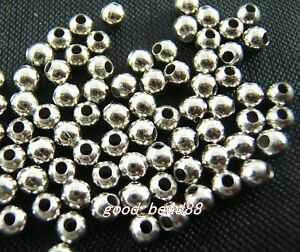 free-ship-250pcs-silver-plated-bead-spacer-4mm-W029