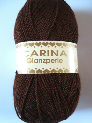 Strickwolle Wolle Rellana Carina Glanzperle 19 Farben