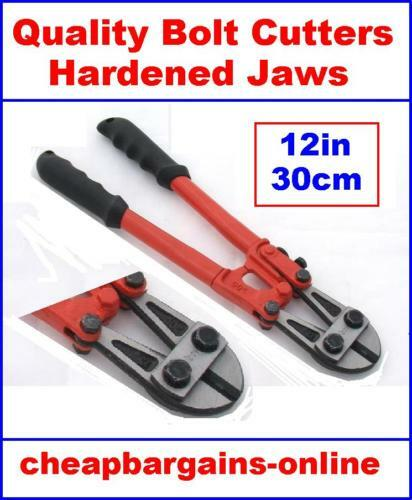 "BOLT CUTTERS NEW 30cm - 12"" BOLT CUTTERS WIRE ROPE CABLE CROPPER TRADE QUALITY"