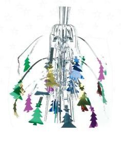 Hanging-Multicolour-Fountain-Christmas-Foil-Decorations