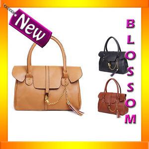 H13-FX-Leather-Shoulder-Bag-Tote-Purse-Handbag-Satchel