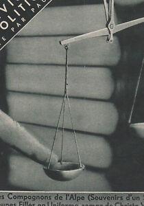 Les Annales Politiques 1934 N° 2480 -justice -politique