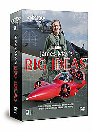 James-May-039-s-Big-Ideas-Triple-Set-DVD-2011-3-Disc-Set-New-Sealed