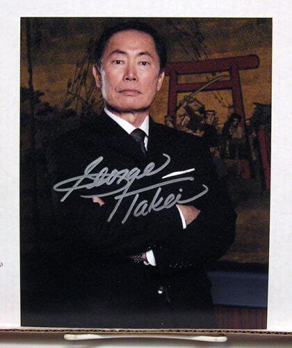 George Takei//Kaito Nakamura #3 HEROES TV Autograph 8X10 Photo
