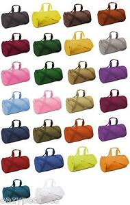 Liberty-Bag-NEW-ECO-Recycled-Small-Duffle-Gym-Workout-Sports-Ball-Tote-8805-FS