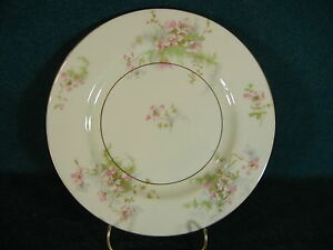 Theodore Haviland Apple Blossom Gold Trim Salad Plate(s)