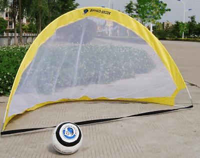 1 Pair 4 ft.Portable Soccer Goals Pop Up Net FREE SHIP