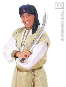 ADULT-MENS-SULTAN-TURBAN-BOLLYWOOD-GENIE-FANCY-DRESS-COSTUME-HAT-PANTOMIME-PANTO