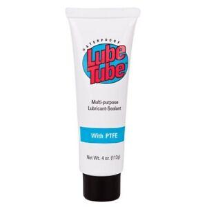 Lube Tube 4 Oz Teflon Lubricant Pool Spa Filter Rubber O