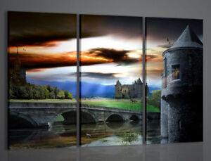 Quadri Moderni Per Ufficio : Quadri moderni fantasy castle quadro moderno arredamento ufficio