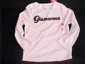 Nwt gymboree kitty glamour pink glamorous long sleeve winter top shirt