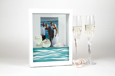 Forever Frame - WEDDING UNITY CEREMONY SAND FRAME – WHITE