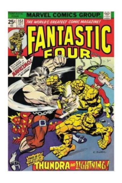 Fantastic Four #151 (Oct 1974, Marvel)