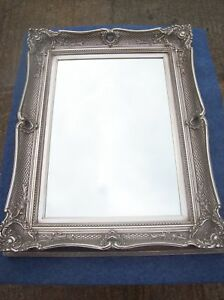 FABULOUS-ORNATE-ANTIQUE-SILVER-OVERMANTLE-MIRRORS-WIDE-6-FRAME-RANGE-OF-SIZES