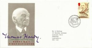 10-JULY-1990-THOMAS-HARDY-ROYAL-MAIL-FIRST-DAY-COVER-BUREAU-SHS