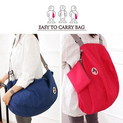 Foldable Fabric Backpack Shoulder Bag_Easy to Carry Bag