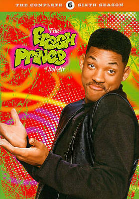 The Fresh Prince of Bel-Air ~ Complete Sixth Season 6 Six ~ NEW 3-DISC DVD SET