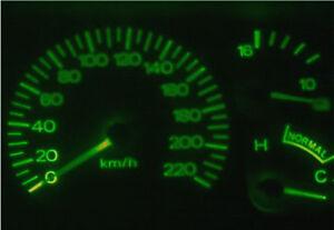 Ford-Falcon-EF-EL-Fairlane-NL-Green-LED-Dash-Light-Kit