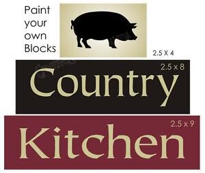 Country Kitchen Logo joanie stencil country kitchen pig hog old farmhouse fresh prim u