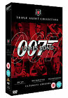 James Bond Ultimate Red Triple Pack - Dr. No/Live And Let Die/Tomorrow Never Dies (DVD, 2006, 6-Disc Set, Box Set)