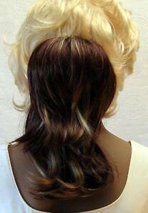 Haarteil-gestraehnt-braun-blond-23-30-cm-H203