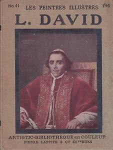 LES-PEINTRES-ILLUSTRES-N-41-LOUIS-DAVID