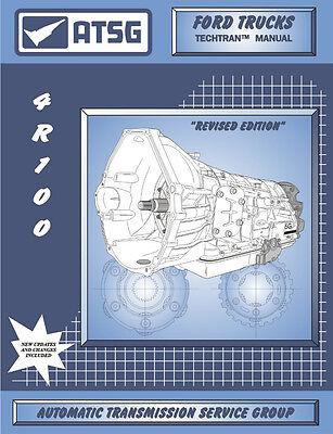 4R100 Transmission Rebuild Repair Manual Overhaul Book Guide Diesel V10 7.3L