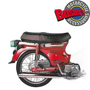 Honda-C90-Cub-C-90-Complete-Replacement-Standard-Silencer-Chrome-Exhaust