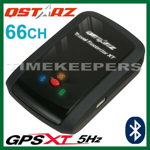 Qstarz-BT-Q1000XT-5Hz-66-Ch-Bluetooth-GPS-Receiver-Data-Tracker-Travel-Recorder