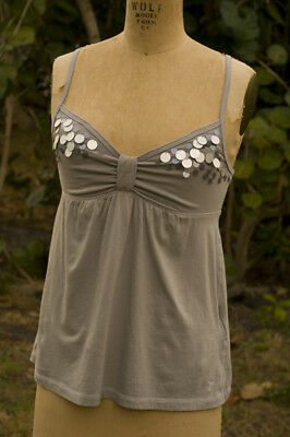 Abercrombie and Fitch Baby Doll Camisole Retro Mod Hybrid Large