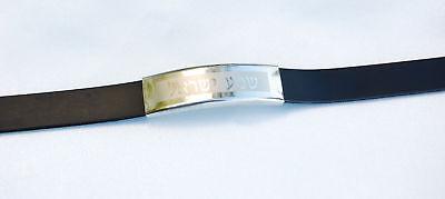 """Bracelet """"Shema Israel"""" Stainless Steel Judaism israel"""