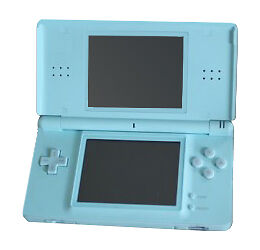 nintendo ds lite launch edition ice blue handheld system console