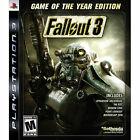 Fallout 3 -- Game of the Year Edition (Sony PlayStation 3, 2009) - US Version