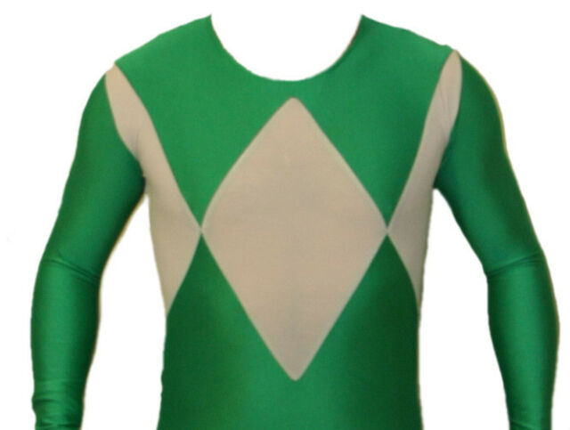 Mighty Morphin Power Rangers Green Ranger Suit Costume XXL (Read Sizing Info)