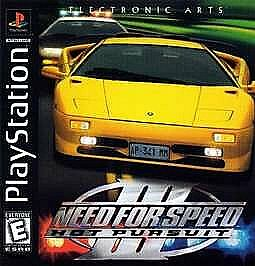 need for speed iii hot pursuit sony playstation 1 1998. Black Bedroom Furniture Sets. Home Design Ideas