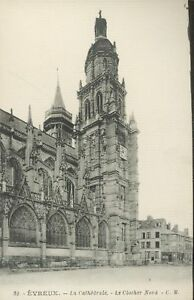 27-cpa-Cathedrale-d-039-EVREUX