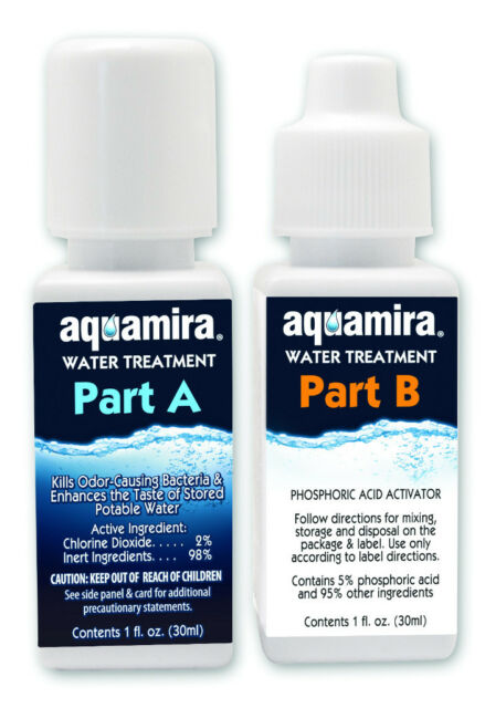 Mcnett Aquamira Water Treatment Kit Purification PURIFYing Drops,Camping,hiking