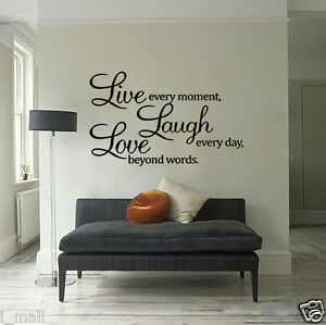 Wall-Quote-Vinyl-Decal-Live-every-moment-Laugh-every-day-Love-beyond-words