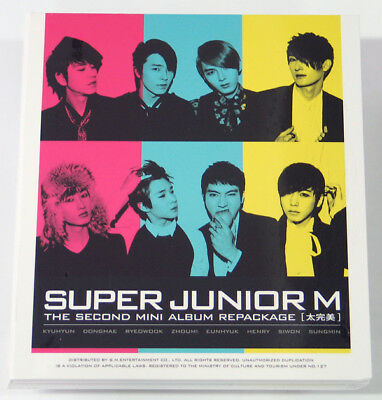 Super Junior M - Perfection REPACKAGE (CD+DVD+Poster)