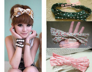 Korean-Style-New-Cute-Big-Polka-Dot-Bow-Headband