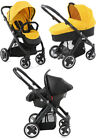 Babystyle Oyster Yellow Travel System Single Seat Stroller