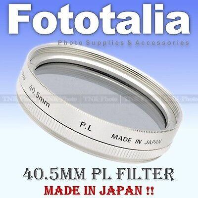 40.5mm Polarising Filter / Polarizer / Polariser / PL for Nikon 1 J1 V1 Silver