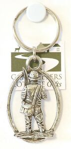 NEW-Fisherman-Fishing-Fly-or-Coarse-Pewter-Keyring-NEW