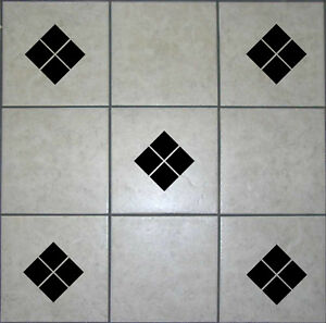 Image Is Loading Diamond Square Tile Transfers BATHROOM STICKERS  DECALS VINYL