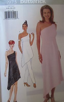 UNCUT Vintage Butterick SEWING Pattern 4973 Evening Gown Prom Formal 6-18 FF